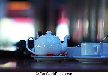 interno, caffè