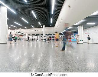 interno, centro commerciale, shopping