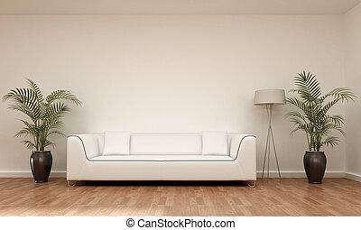 interno, divano, scena