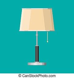 interno, lamp., mobilia, apparecchiatura illuminazione