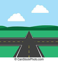 intersezione strada