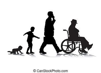 invecchiamento, 2, umano