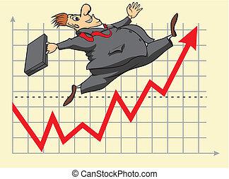 investitore, fortunato, mercato, casato