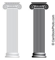 ionico, column.