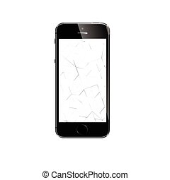 iphone, più, mela, 6