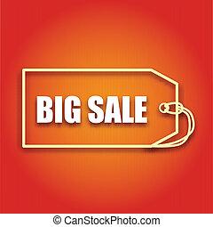 iscrizione, affari, manifesto, vendita, vettore, disegno, grande, tuo