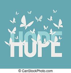 iscrizione, speranza