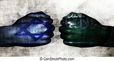 israele, arabia, saudita, vs