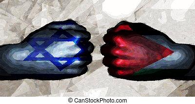 israele, palestina, vs