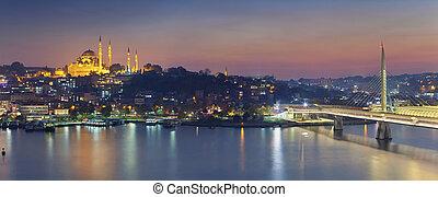 istanbul, panorama.