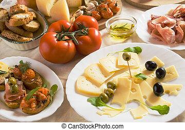 italiano cibo, antipasto