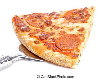 italiano, fetta, saporito, pizza