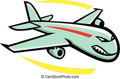 jumbo-jet-plane-mascot