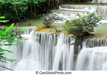 kamin, hua, livello, acqua, mae, 4, cadere, tailandia, kanchanaburi