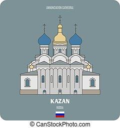 kazan, annunciazione, cattedrale, russia