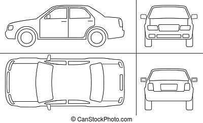 keyline, automobile