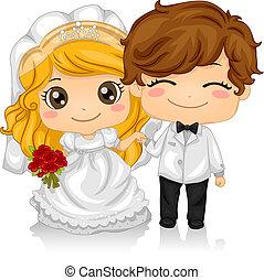 kiddie, matrimonio