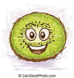 kiwi, felice