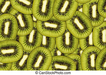 kiwi, frutta fresca, succoso, fondo