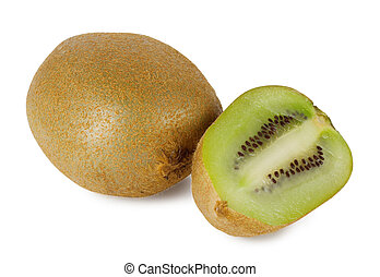 kiwi, succoso, maturo