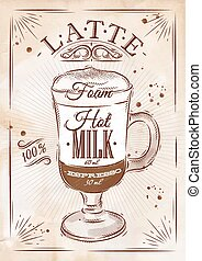 kraft, latte, manifesto