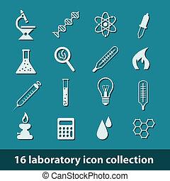 laboratorio, icone