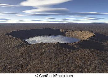 lago, cratere