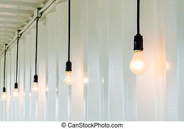 lampada, elettrico