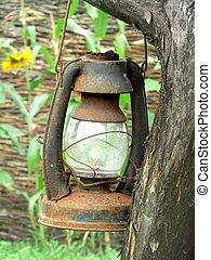 lampada, portato