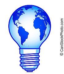 lampadina, globo