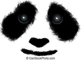 lanuginoso, panda