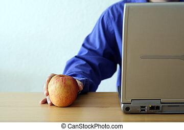 laptop, mela