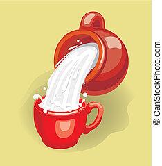 latte, (vector)