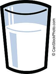 latte vetro