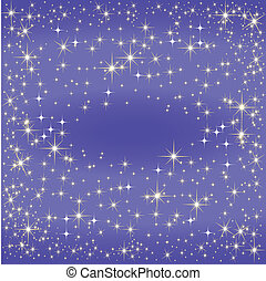 latteo, blu, modo, mappa, stella