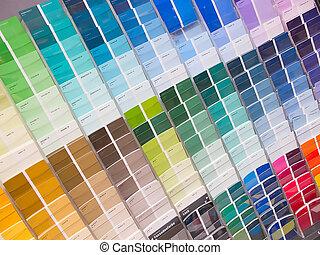 lattine vernice, colorito