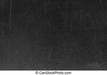 lavagna, /, gesso, nero, lavagna, vuoto, tracce, texture., vuoto
