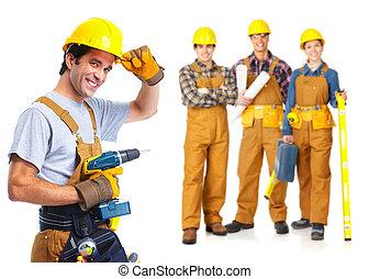 lavorante, appaltatori, persone