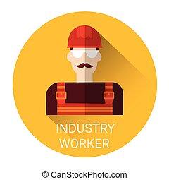 lavoratore industria, icona