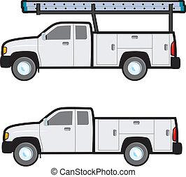 lavoro, camion
