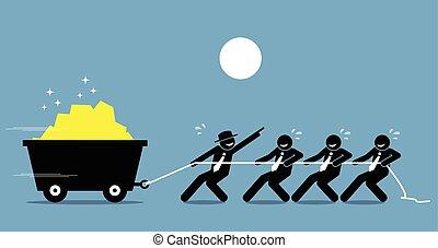 lavoro, lavorativo, help., lavorante, duro, insieme, condottiero, incoraggiamento, personale