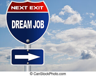 lavoro, sogno, segno strada