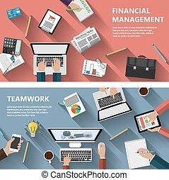 lavoro squadra, concetto finanziario, menagement