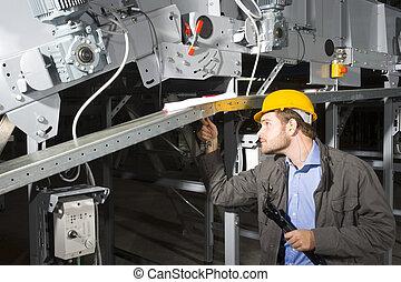 lavoro, tecnico della manutenzione