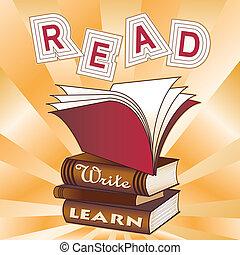 learn!, leggere, scrivere