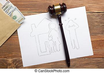 legale, concept., mezzi, proprietà, famiglia, sezione, legge, divorzio