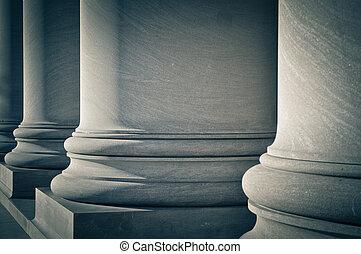 legge, colonne, educazione, governo