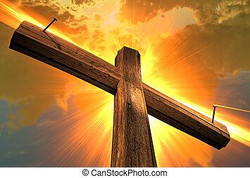 legno, (3, croce