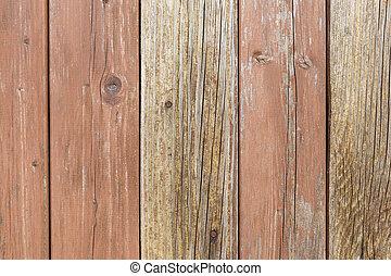 legno, alterato, struttura