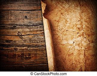 legno, carta, fondo
